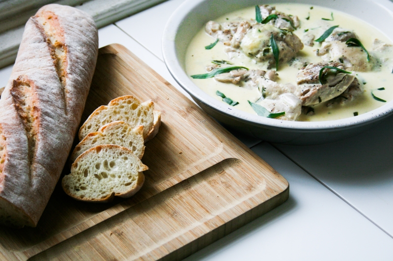Chicken With Vermouth, Tarragon And Cream [Nigel Slater Project #30 ...